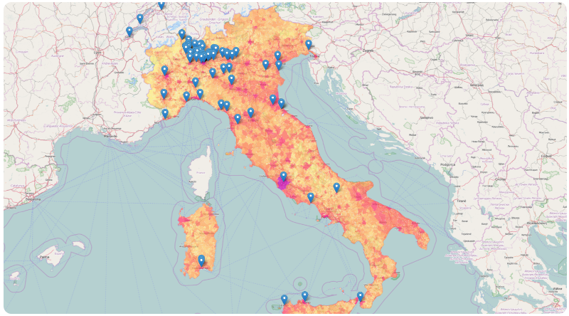 analisi loyalty su mappa